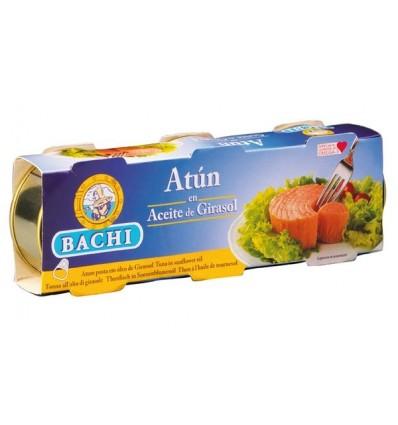 Atun Bachi Aceite Vegetal Ro-80 Grs Pk-3