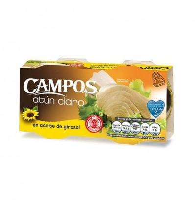 Atun Campos Aceite Vegetal Ro-160 Grs Pk-2