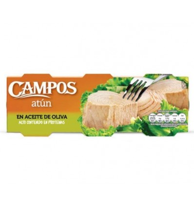 Tuna Campos Olive oil Ro-80 Grs Pk-3