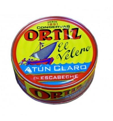 Tuna Ortiz Escabeche Pdta. Ro-265 Grs