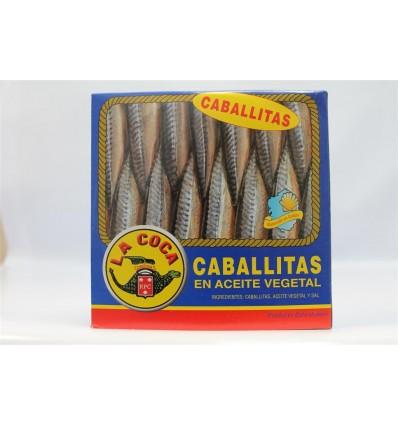 Petits maquereaux La Coca Huile Ro-550 Grs