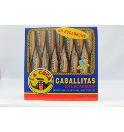 Caballitas La Coca Escabeche Ro-550 Grs