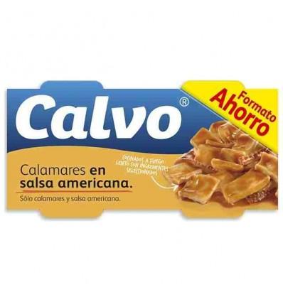 Calamares Calvo Salsa Ro-80 Pk-3
