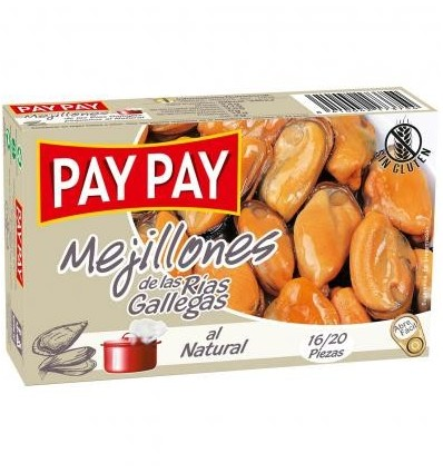 Muscheln Pay-pay 6-8 Einheiten Ol-120 Grs