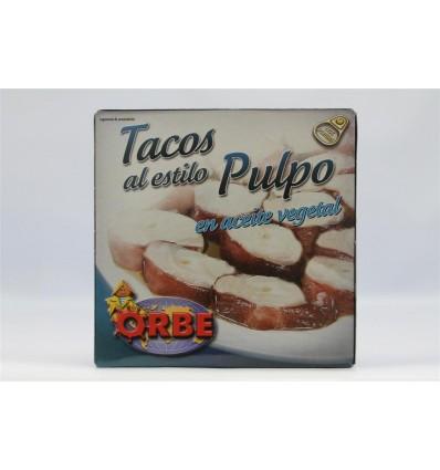 Tacos Al Estilo Pulpo Orbe Aceite 280 Gr