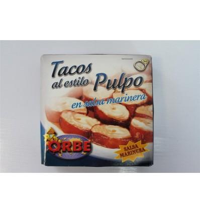 Tacos Al Estilo Pulpo Orbe Salsa 280 Grs