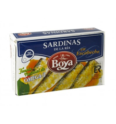 Sardinas Boya Escabeche Rr-125 81 Grs