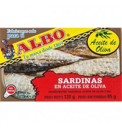 Sardines Albo Huile 125 Grs