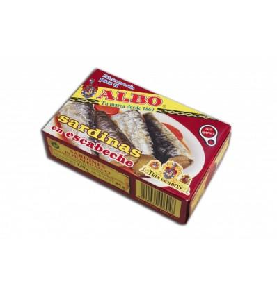 Sardines Albo Escabeche 125 Grs