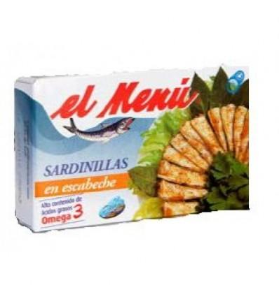 Petites Sardines El Menu Escabeche 90 Gr
