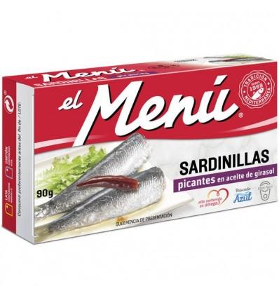 Petites Sardines El Menu Picantes 90 Grs