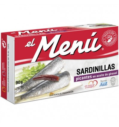 Small Sardines El Menu Spicy 90 Grs