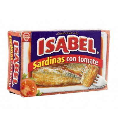 Sardinas Isabel Tomate Ro-125 110 Grs
