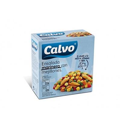 Ensalada Calvo Marinera Con mejillones