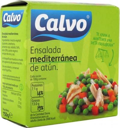 Ensalada Calvo Mediterranea Ro-160 Grs