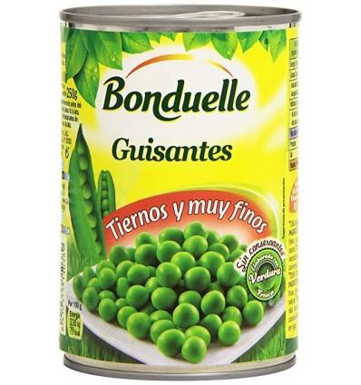 Green peas Bonduelle thin 250 Grs Pk-3