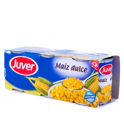 Maiz Juver Dulce 250 Grs Pk-3