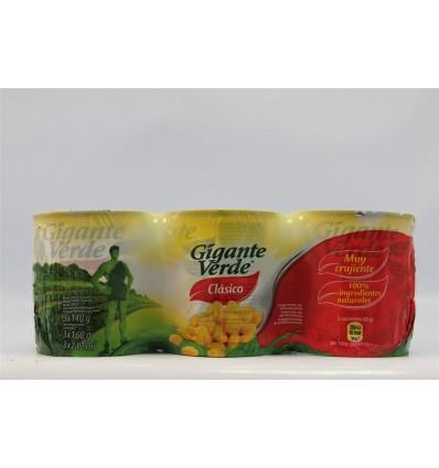 Maiz Gigante Verde 250 Grs Pk-3 F.a.