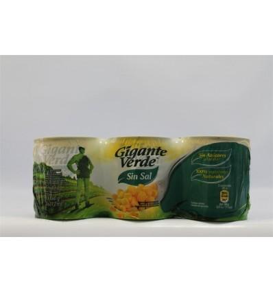 Maiz Gigante Verde Ligero 250 Grs Pk-2