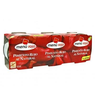 Pimiento Morron Menu Rojo Pack 3x80g