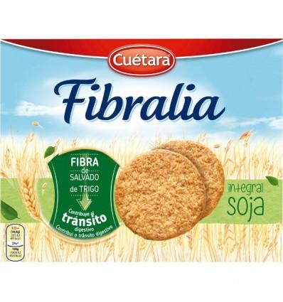 Biscuits Cuetara Fibralia Blé complet Soja