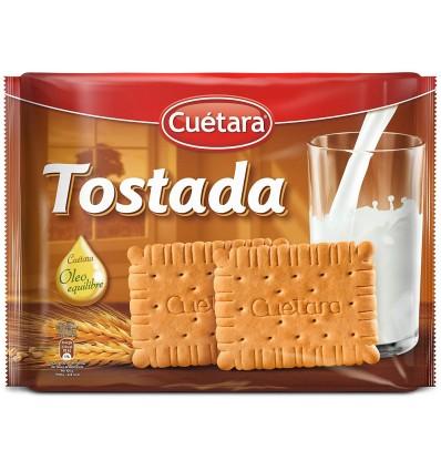 Galletas Cuetara Tostada Ofta. 4x200 Grs
