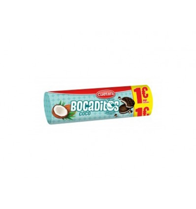 Biscuits Cuetara Bocaditos Coconut 150 Grs
