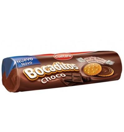 Biscuits Cuetara Bocaditos Chocolat 150 Grs