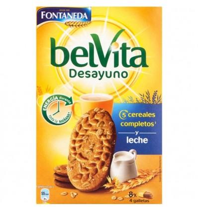 Galletas Fontaneda Belvita Leche 400 Grs
