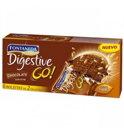 Kekse Fontaneda Digestive Choco-Milch 300 Grs