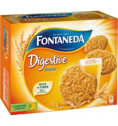 Biscuits Fontaneda Digestive 700 Grs
