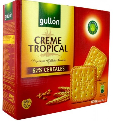 Biscuits Gullon Tropical Pk-4 800 Grs