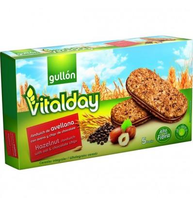 Galletas Gullon Vitalday Rellenas Chocolate