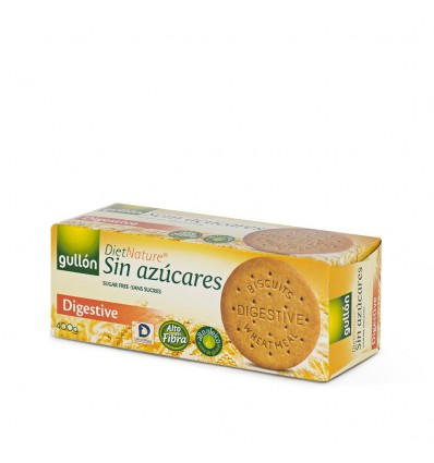Biscuits Gullon Digestive Sugra free Diet Nature 400 Grs
