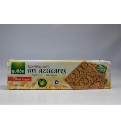 Biscuits Gullon Fibra Sugra free Diet nature 170 Grs