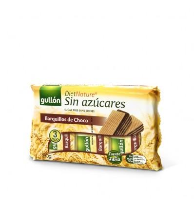 Biscuits Gullon Barqui-choco Sans sucre Diet Nature 210 Grs