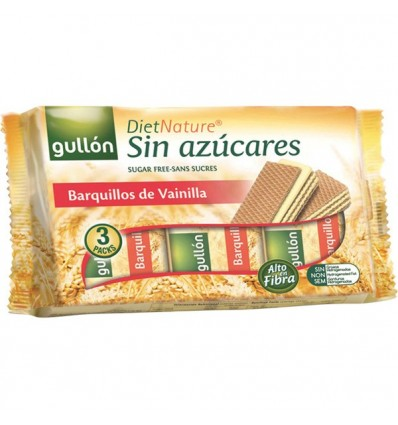 Biscuits Gullon Barquillo Sugra free Diet Nature 210 Grs