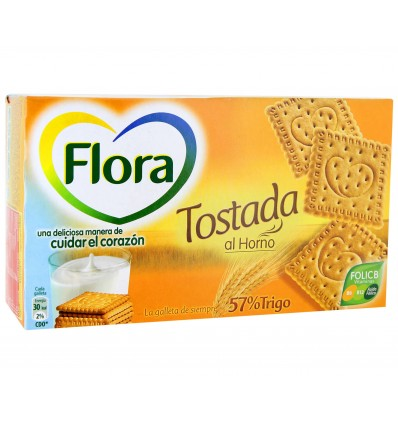 Biscuits Flora grilled 450 Grs