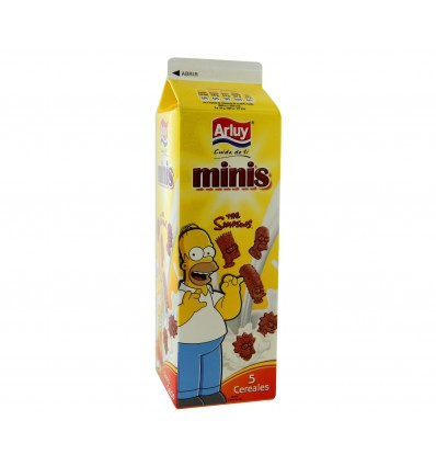 Biscuits Arluy Mini Simpsons 275 Grs