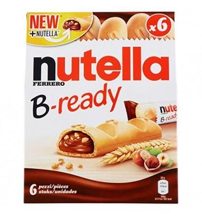 Kekse Nutella B-ready 132 Gr 6 Einheiten