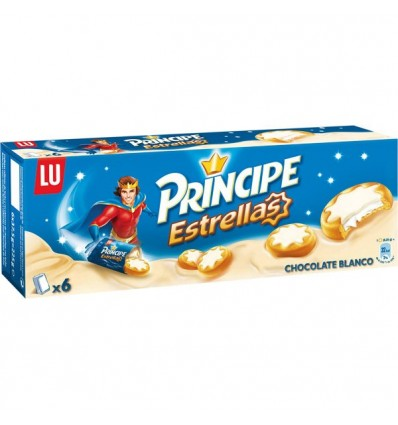 Galletas Principe Estrella Chocolate Blanco