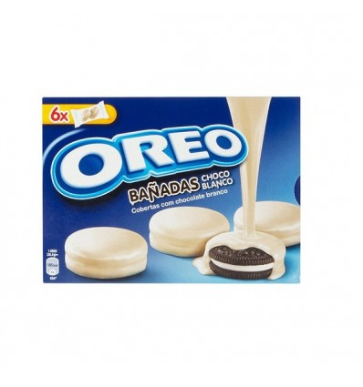 Biscuits Oreo coated Chocolate White 246 Grs