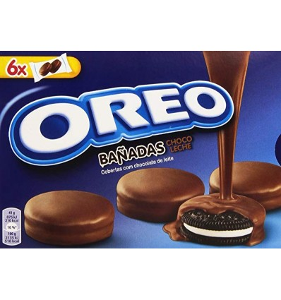 Biscuits Oreo recouvertes Chocolat 264 Grs