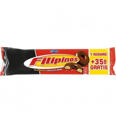 Galletas Filipinos Chocolate Negro 135 Grs