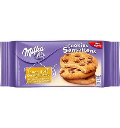 Biscotti Milka Cookies Sensations 156 Grs