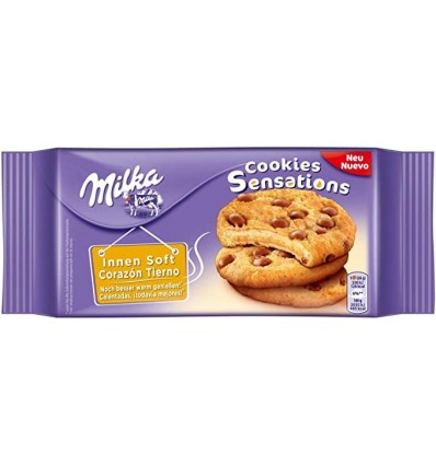 Biscuits Milka Cookies Sensations 156 Grs