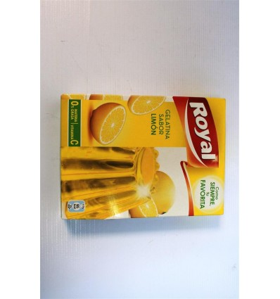 Gelatina Royal Limon 170 Grs