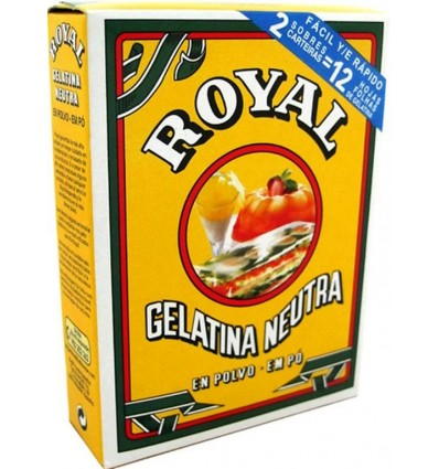 Gelatina Royal Neutra 20 Grs