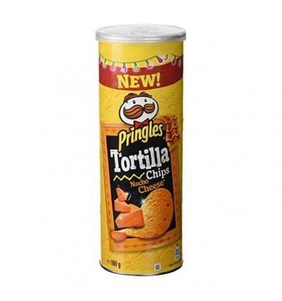 Pringles Snack Tortilla Nacho Cheese 160 Grs