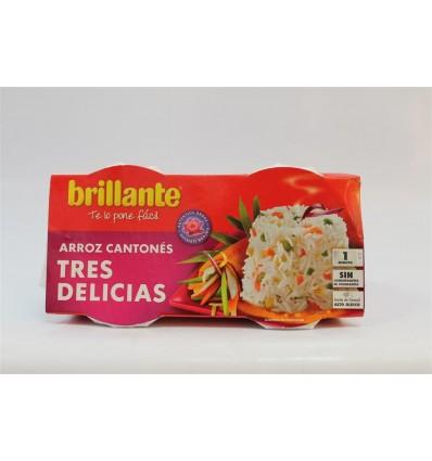 Arroz Brillante Vasito Tres Delicias Pk2